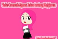 teks Ceramah Agama Islam tentang Kejujuran